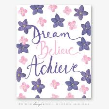Purple Quotes Unique Purple Pink Floral Prints And Motivational Quotes Soumya S