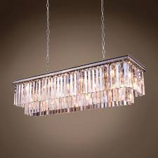 modern floor lamp rectangular chandelier restoration hardware