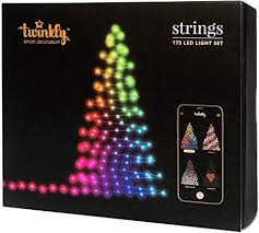 Twinkly 175 LED String Lights | Customizable WiFi ... - Amazon.com