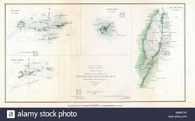 Key Largo Chart English This Is An 1852 Triangulation Chart Of Biscayne Bay