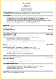 Example Good Cv Magdalene Project Org