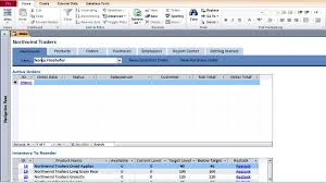 Access 2013 Templates Microsoft Access Templates Northwind Sales Database For Microsoft