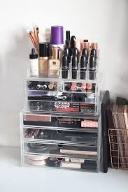 makeup storage with modular systems