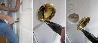 How To how to fix a door knob latch pics : Appliance: Remarkable Yellows Stunning Doorknob With Elegant How ...