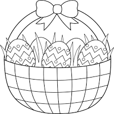 Easter Coloring Pages For Preschoolers Hd Easter Images
