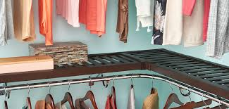 pre finished shelf rod closet system