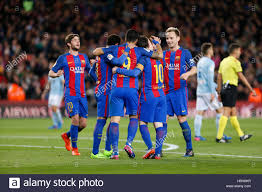 Goals Bt Ween Messi And Neymar Jr Barcelona Spain March 24 24 Leo Messi celebrates scoring the 24 115616