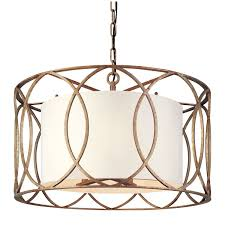 Drum Light Fixtures Pendants Troy Sausalito Five Light Drum Pendant F1285sg Pendant