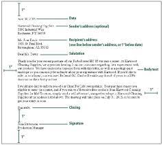 Proper Formal Business Letter Format   sample letter png