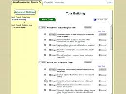 Free Cleaning Bid Forms Template Janitorial Sheet Medpages Co