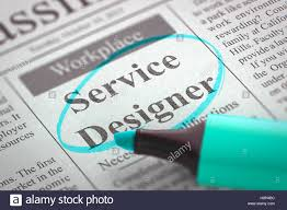 Designer 3d Job Service Designer Job Vacancy 3d Stock Photo 125880928 Alamy
