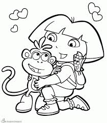 Remarkable Dora The Explorerg Pages Free Diego For Kids To Print