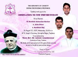 Ordination Invitation Template Ordination Invitation Samples