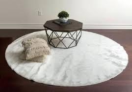 round area rug white super soft faux sheepskin round area rug carpet 8 x best area