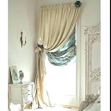 patio door curtain rod sliding