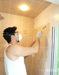 how to paint bathroom tile on wall how do you paint bathroom wall tile