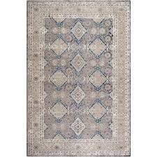 safavieh sofia light gray beige 8 ft x 11 ft area rug sof366b 8 the home depot
