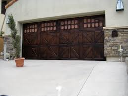 painted wood garage door. Image Of: Stylish Faux Wood Garage Doors Painted Wood Garage Door
