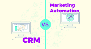 Marketing Automation Comparison Chart Crm Vs Marketing Automation Which One Does Your Small