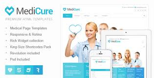 Medicure Health Medical Html5 Template