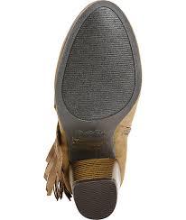 Qupid Fringe Taupe Boots