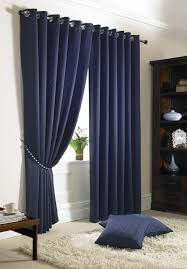 Navy Bedroom Curtains Decoration White Curtains With Navy Blue Design Interior Ideas For