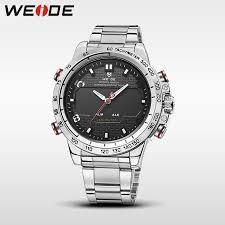 <b>WEIDE</b> steel series <b>watches 2017</b> luxury brand sport led digital ...