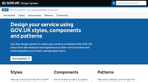 Gov Uk Design System Designing A Design System Adam Silver Designer London Uk