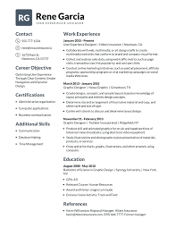 Modern Resume Builder For Sales Build A Professional Resume In 10 Minutes Instantresume