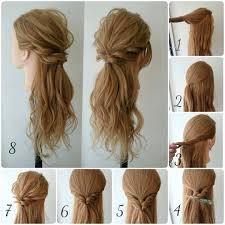 Coiffure Mariage Cheveux Mi Longs Beau Tuto Rapide Long Et