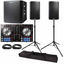 pioneer speakers subwoofer. pioneer ddj-sr performance dj controller with alto ts212 12\ speakers subwoofer