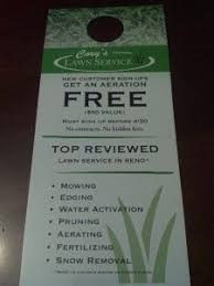 Lawn Care Door Hanger Lawn Care Business Lawn Care Lawn Care