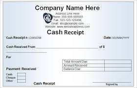 Cash Received Receipt Cool Cash Receipt Template 48 Free Word Excel Documents Download
