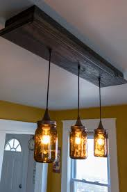 completed pendant light fixture