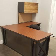 office designscom. L Shaped Industrial Office Desk Designscom C