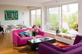 Purple Living Room Furniture Pink Sofas An Unexpected Touch Of Color In The Living Room
