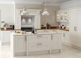 shaker style lighting. rivington solid ash painted shaker style kitchen in creamu2013 first impressions lighting