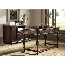 furniture desks home office credenza table. liberty furniture kingston plantation writing desk with optional credenza cognac from its turned legs to finish the desks home office table