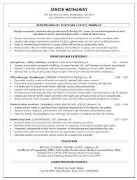 Best Ideas Of Resume Examples Executive Assistant Job Description