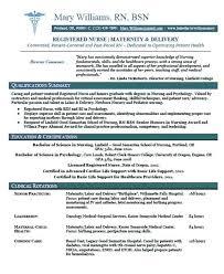 Nurse Rn Resume Entry Level Recent Graduate Template All Best Cv