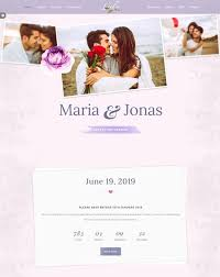 Wedding Website Templates Amazing 28 Best Wedding Website Templates Free Premium FreshDesignweb