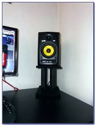 desk speaker stands desktop speaker stands uk