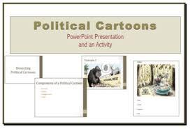 Cartoon Powerpoint Presentation Political Cartoon Powerpoint Presentation And Handout By Learning
