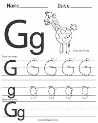 letter g worksheets the 25 best letter g worksheets ideas on ...