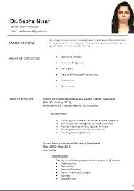 Contemporary Indian Doctor Resume Sample Photo Resume Ideas