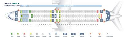 United 767 Seating Chart Westjet Fleet Boeing 767 300erw Details And Pictures