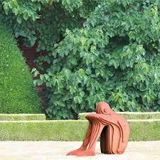tom his british sculptor corten steel