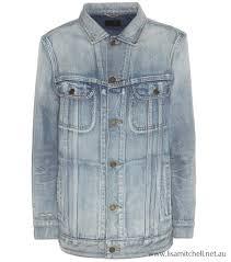 blue women s oversized denim jacket australia