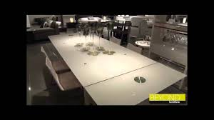 extendable glass dining tables from beyond furniture sydney