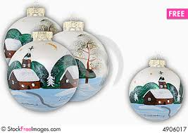 Hand Decorated Christmas Balls Christmas Balls Hand Painted Free Stock Images Photos 12